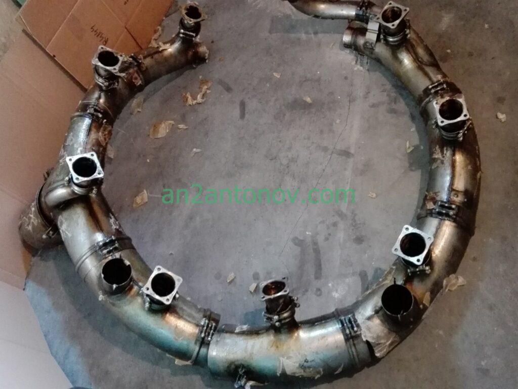Kolektor wylotowy, Exhaust manifold Sz6800-1